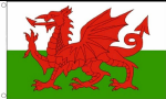 Wales Large Deluxe Country Flag - 5' x 3'